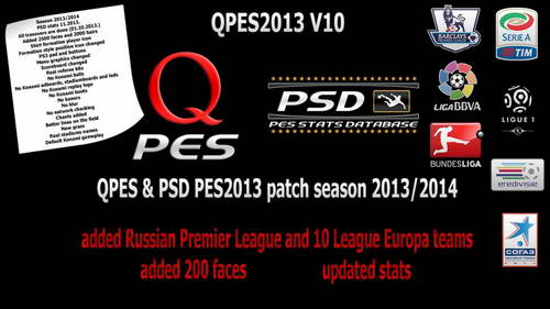PES 2013 QPES Patch v10 Single Link ketubanjiwa.com