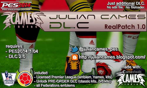 PES 2014 Real Patch 1.0 For DLC 2.0