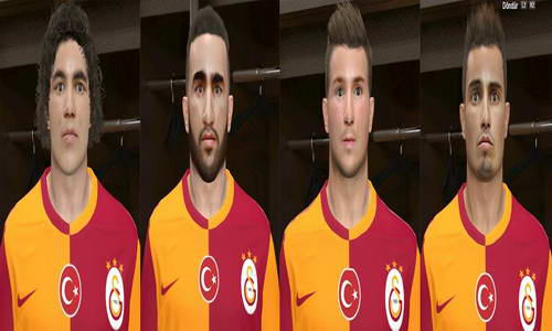 PES 2014 Galatasaray New Transfers Facepack by Avrupaslan Ketuban Jiwa