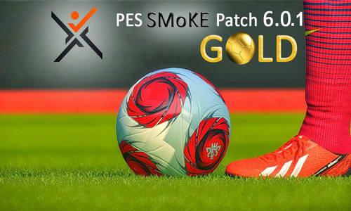 PES 2014 Smoke Patch Gold v6.0.1 Updates Ketubanjiwa